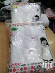3PACK Girls N Boys Pure Cotton White Vests | Clothing for sale in Nairobi, Kasarani