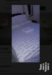 CANDY WHITE BEDSHEETS   Home Appliances for sale in Mombasa, Shimanzi/Ganjoni