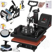 Heat Press Machine Hat/Mug/Plate/Cap/T-shirt Multifunction New 5 In 1 | Printing Equipment for sale in Nairobi, Nairobi Central